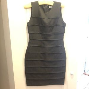 Calvin Klein grey mini dress